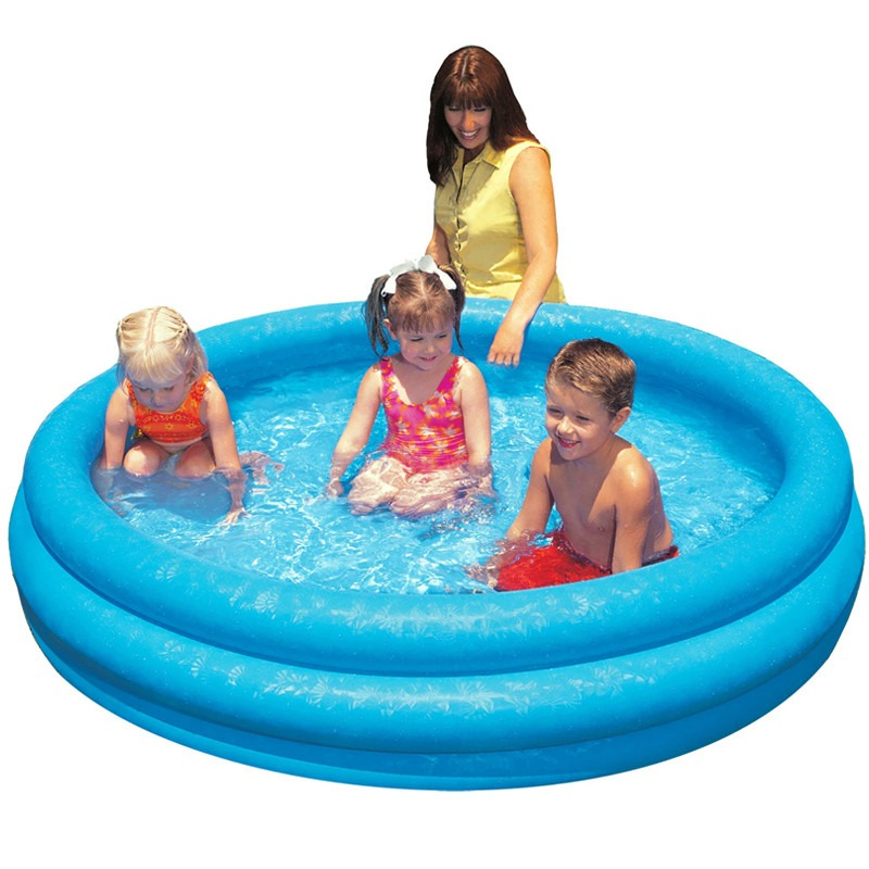Piscina infl vel 288 litros intex redonda infantil beb for Alberca intex redonda