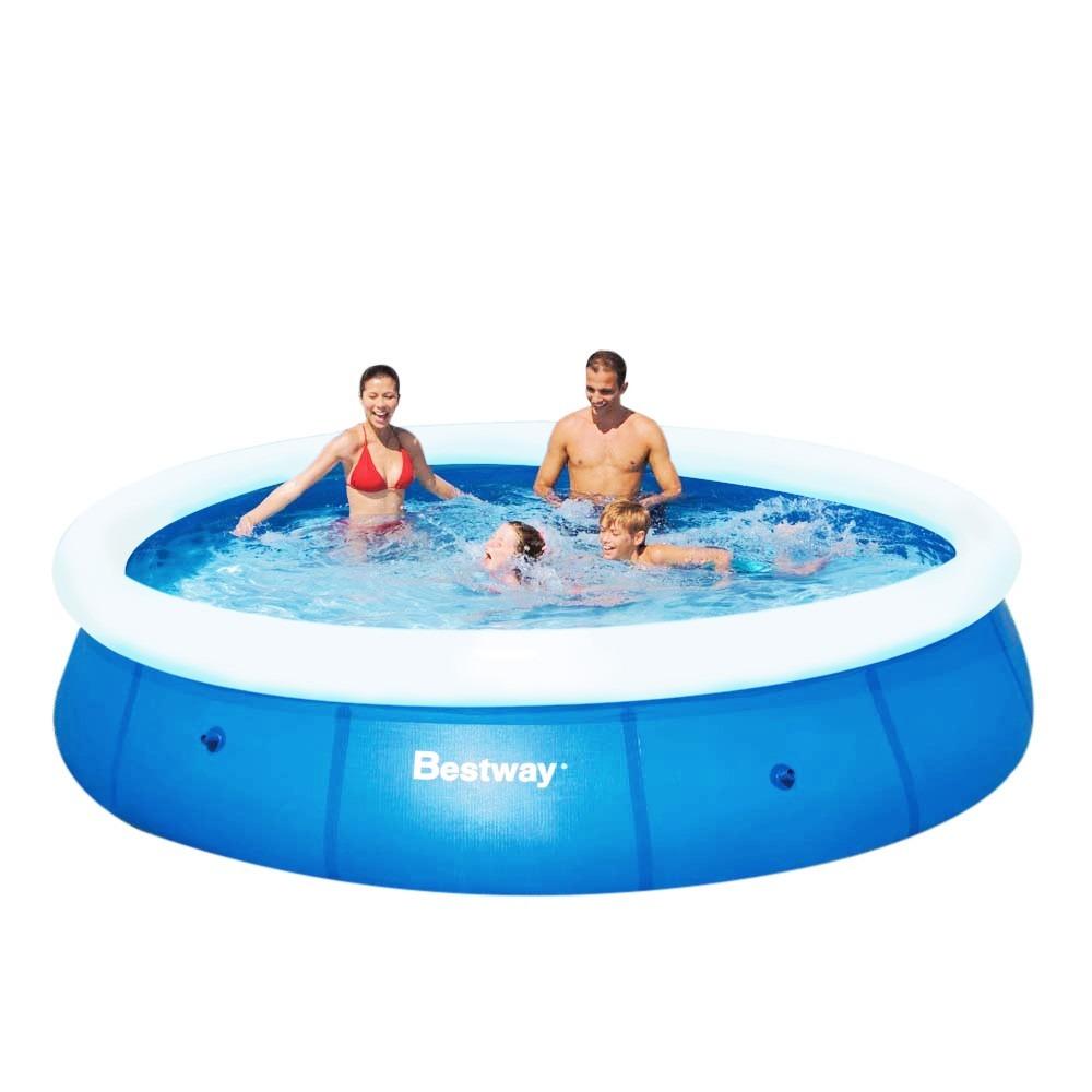 Piscina infl vel 5500 litros 3 66m x 76cm fast set bestway for Calcular litros piscina