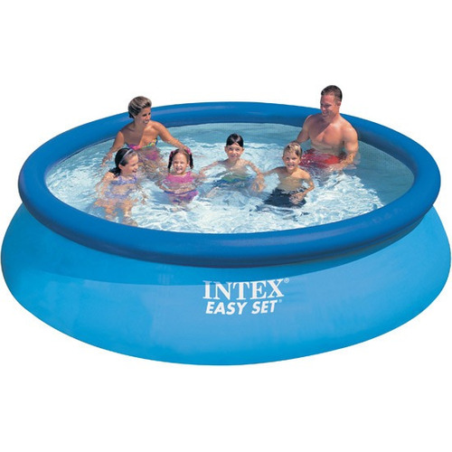 Piscina infl vel intex litros redonda pode for Alberca intex redonda