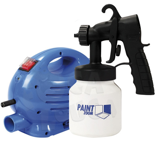 Pistola pintura compressor portatil hvlp 110v paint zoom - Pistola pintura compresor ...