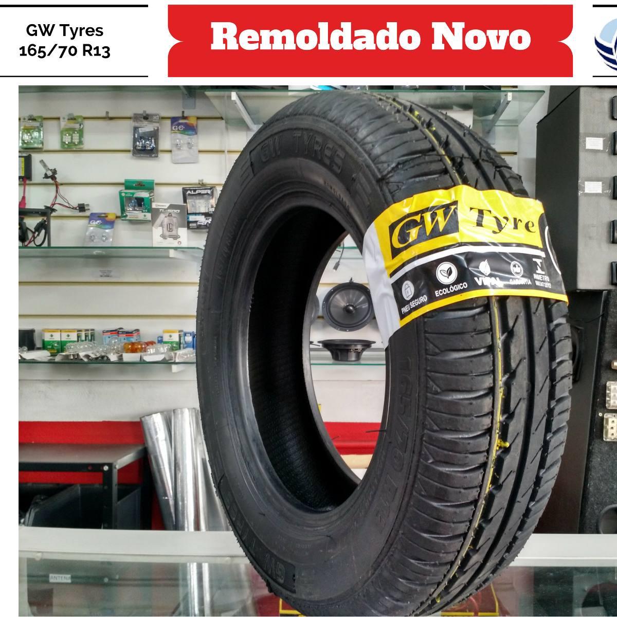 pneu 165 70 r13 gw tyre yokohama remold 5 anos de garantia r 133 00 em mercado livre. Black Bedroom Furniture Sets. Home Design Ideas