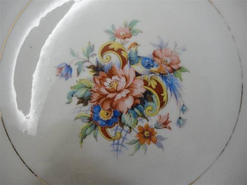 prato de bolo em porcelana brasileira - rami