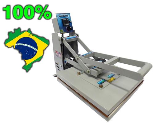 prensa termica plana sublimação e transfer 40 x 35 cm