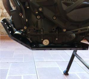 protetor carter bmw f 800 gs/adventure aluminio