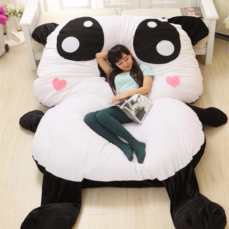 puff urso panda adulto modelo 1 p r 160 00 em mercado livre. Black Bedroom Furniture Sets. Home Design Ideas