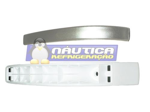 puxador branco da porta p/geladeiras brastemp modelos brm