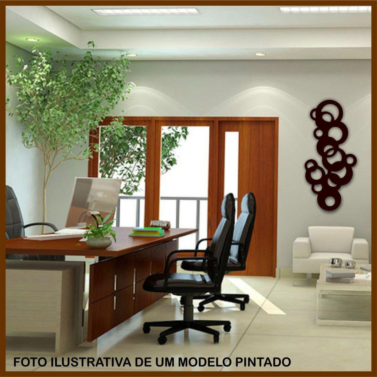 De Parede Escultura 1 Metro  Mdf Cru R$ 78 90 em Mercado Livre #6F360E 1199x1200
