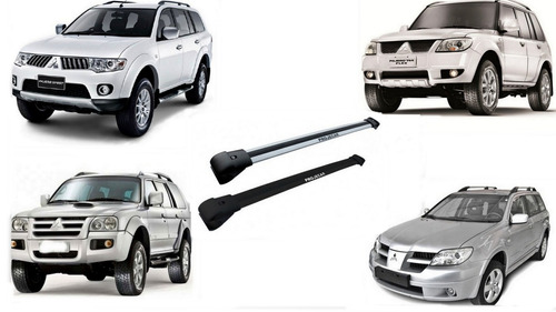 rack travessas para tr4 air trek dakar pajero sport