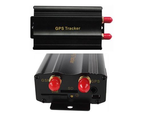 rastreador gps bloqueador c/ escuta  tk103b controle remoto