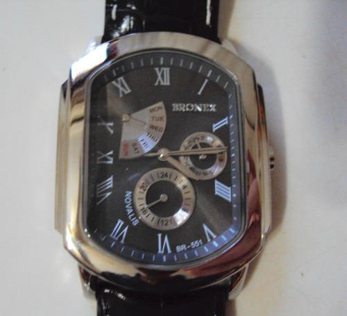 relógio bronex quartz