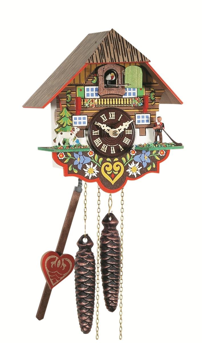 d6852ebfc4e Relógio Cuco Mecânico A Corda Diária Pássaros Alemão 632