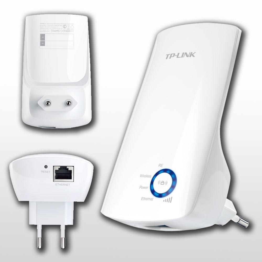 Repetidor de sinal wireless wi fi 300mbps tp link tl - Repetidor wifi tp link ...