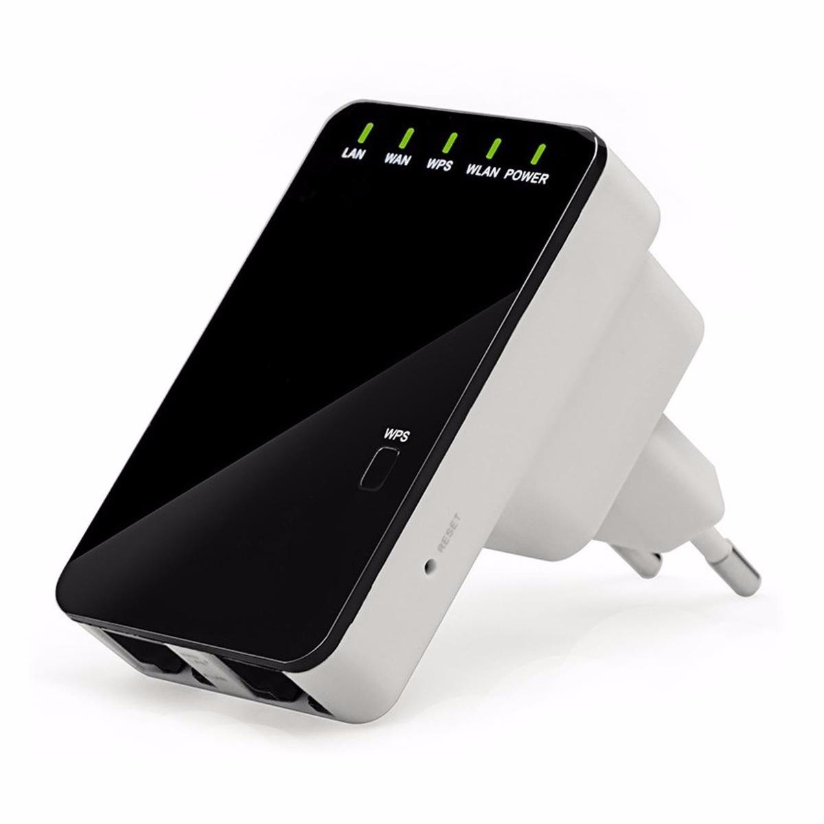 Repetidor expansor e roteador de sinal 300mbps wifi - Repetidor de wifi ...