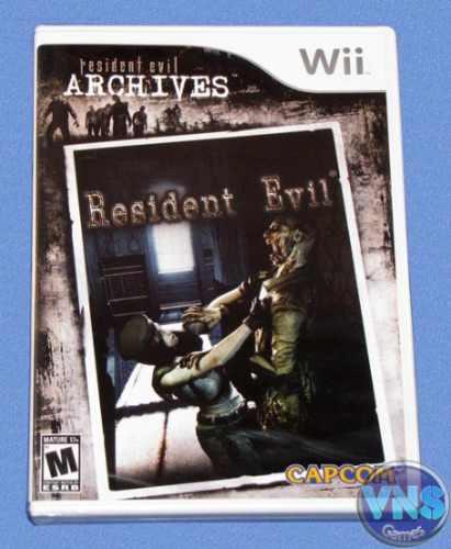 resident evil resident evil wii