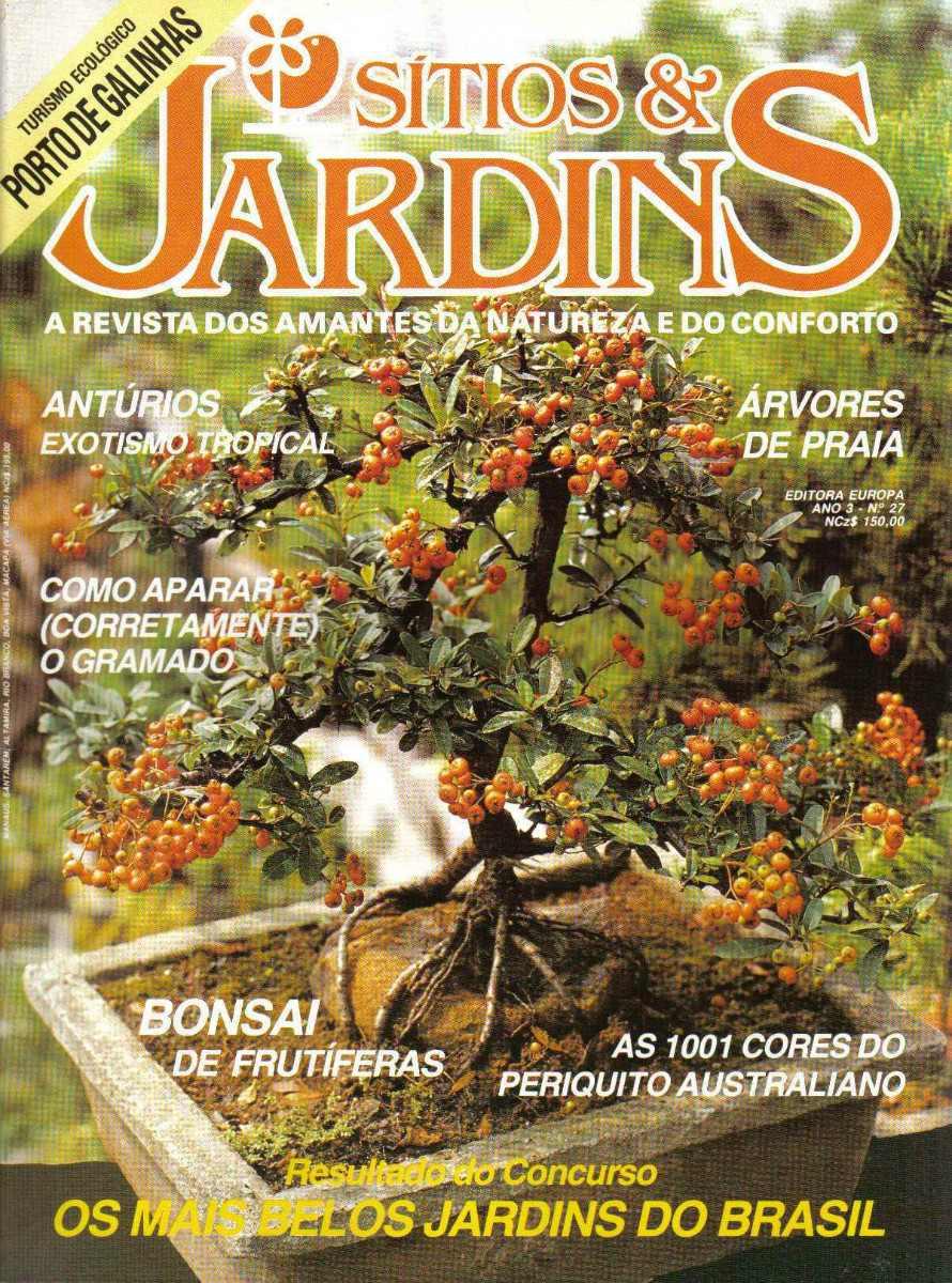 decoracao para jardins mercado livre:Revista Sítios & Jardins Nº27 – R$ 12,90 em Mercado Livre