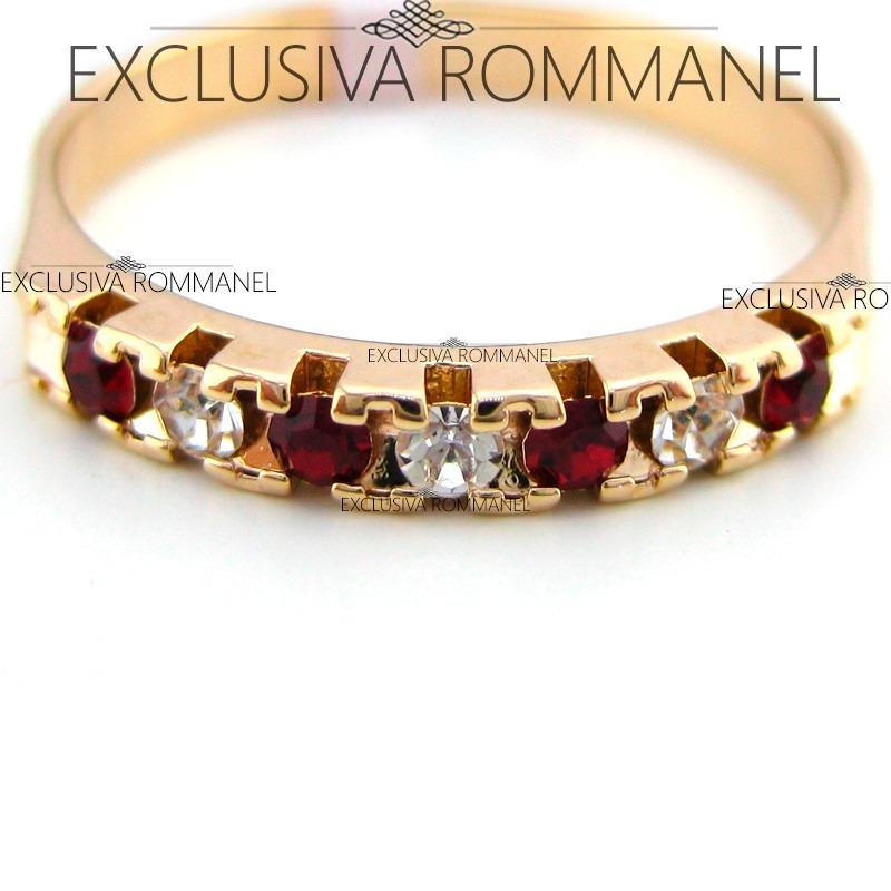 Aparador Leroy Merlin ~ Rommanel Anel Meia Aliança Aparador Folheado Ouro 18k 510025 R$ 85,80 em Mercado Livre