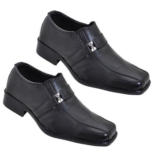 sapato social masculino em couro legitimo