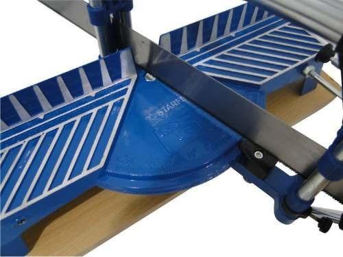 serra manual meia esquadria 550mm de lâmina ajustável