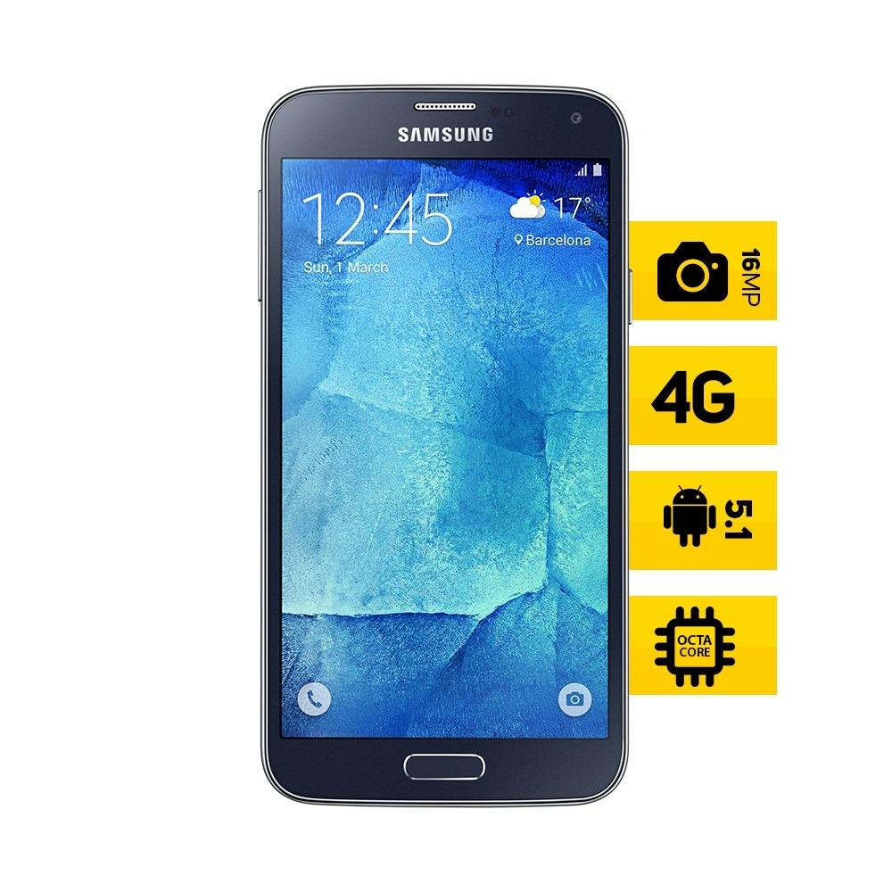 smartphone samsung galaxy s5 new edition ds preto orange. Black Bedroom Furniture Sets. Home Design Ideas