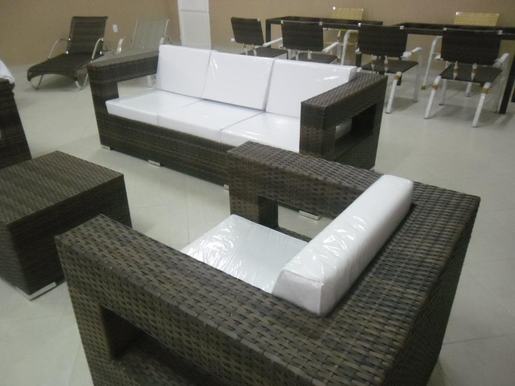 Sofá Em Alumínio De Alta Qualidade E Fibra Sintética R$ 5.950 00  #66614F 1024x768