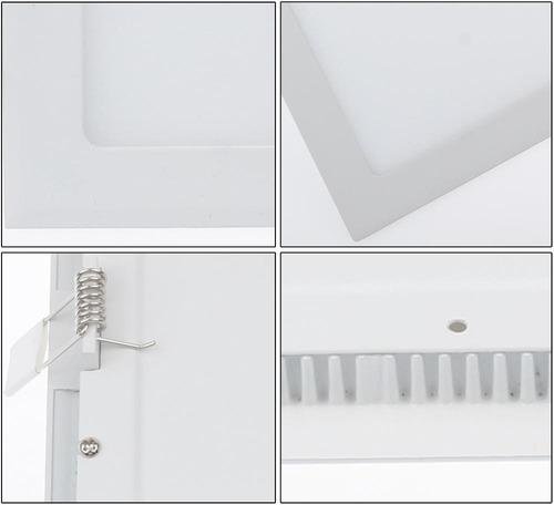 spot led l mpada ultra slim plafon embutir 6w plafon r 42 00 no mercadolivre. Black Bedroom Furniture Sets. Home Design Ideas
