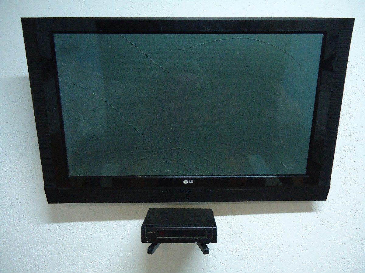 Suporte tv bi articulado lcd led plasma 26 a 52pol - Soporte articulado tv ...