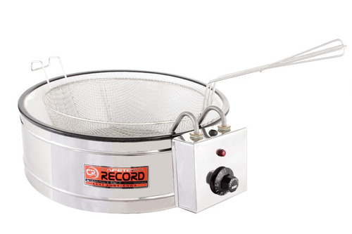 tacho de fritura fritadeira elétrica  3,5 lts c/ termostato