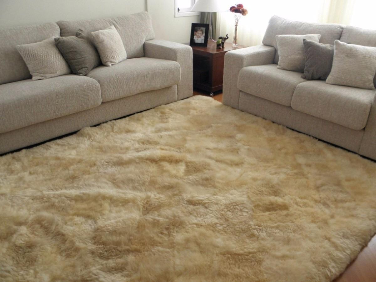 Tapete peludo sala r 269 00 em mercado livre for Sala de estar tapete