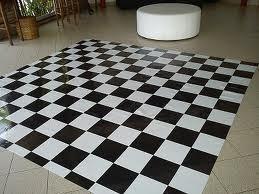 tapete xadrez - 4x3m - 12m² + dupla face - pista de dança