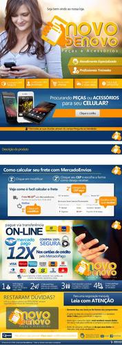 template html para anuncios no mercado livre - mercadolivre