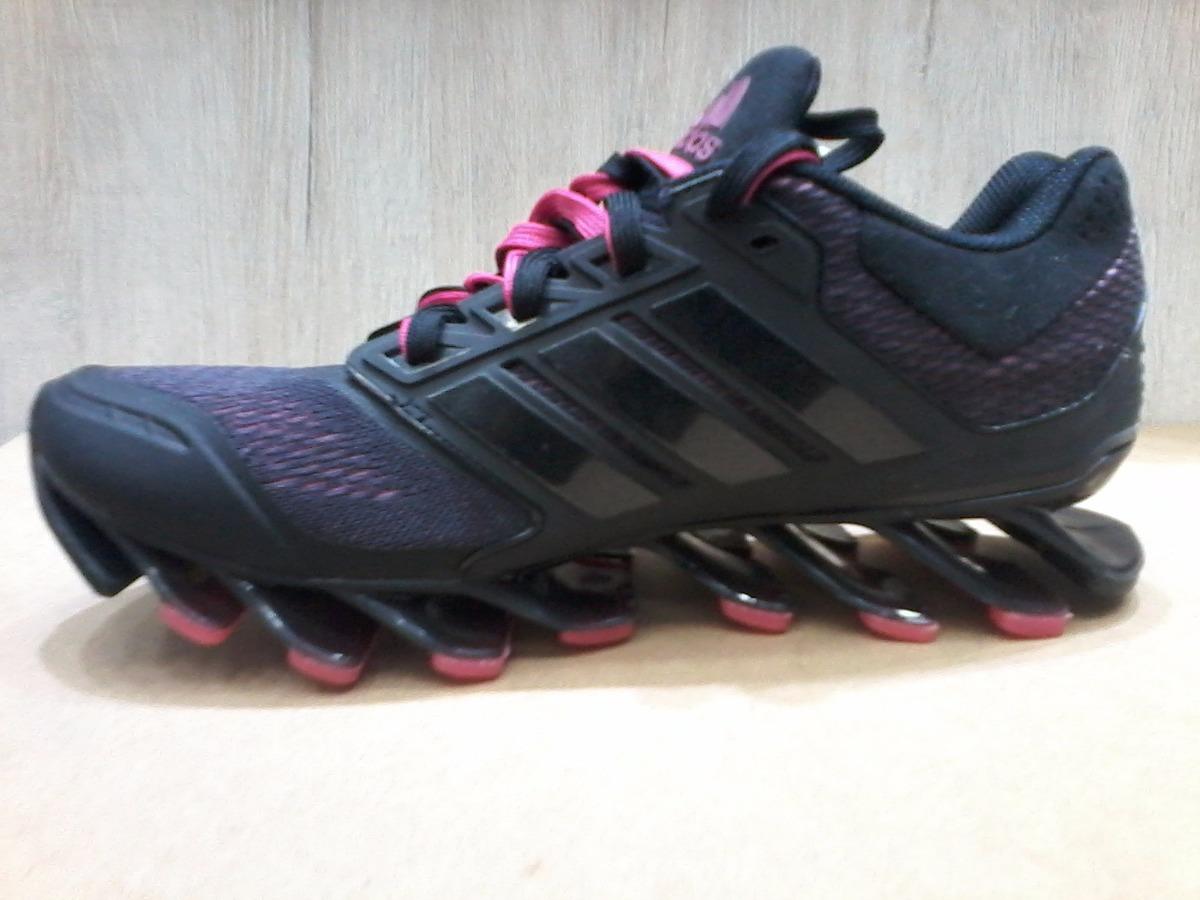 adidas spring blade preto e rosa