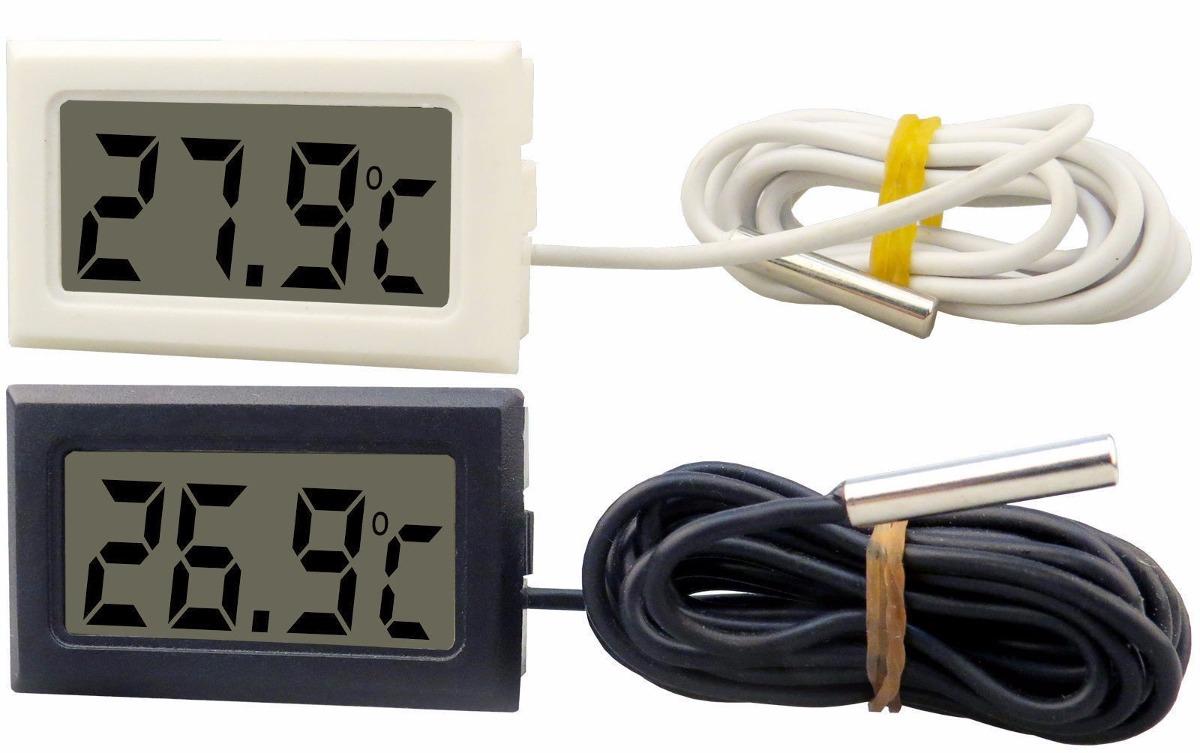 Comprar medidor de temperatura digital com sensor externo - Temperatura freezer casa ...