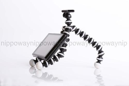 tripé suporte celular smartphone tipo gorillapod iphone sony