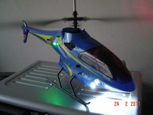 valorize o seu aeromodelo - luz de navegação com estrobo.