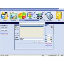 vendas, estoque, pdv caixa clientes , ordem de serviço,etc.