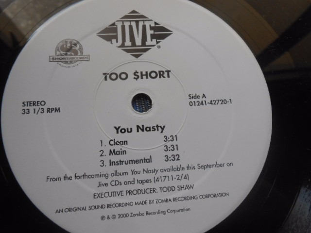 Too Short You Nasty She Know