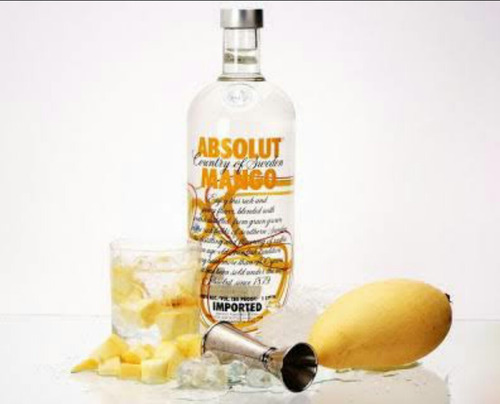 vodka absolut mango 1 litro
