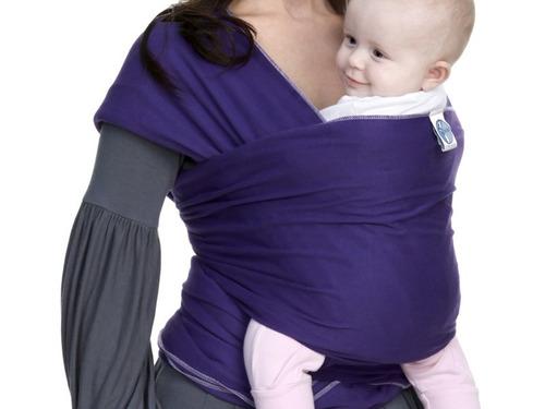 wrap sling / carregador de bebê canguru
